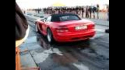 1000hp Dodge Viper Burnout!