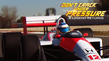 Don't crack under pressure - A legend returns