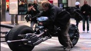Batman The Dark Knight Rises Nyc Behind The Scenes Footage! 1080p