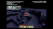 Minecraft оцеляване еп.4 Sezon2 Namirane na piramida- Emerald, gold, iron and diamond