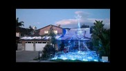 Коледа Light Show 2011 в Fountain Valley, Ca от Devers Сън Weavers 54020 светодиоди