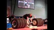 Benedikt Magnusson 1100 Pound Deadlift World Record!!