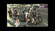 Обиколката на Катар етап 6 - ( Tour of Qatar 2012 M. Cavendish crash)