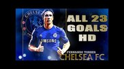 Fernando Torres All Goals 2012 - 2013 Hd