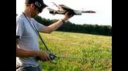 Мини самолетче с реактивен двигател