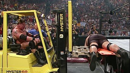 Brock Lesnar vs. Big Show: Judgment Day 2003