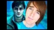 """"""" Harry Potter's Over"""": Music Video( Parody of """"skyscraper"""" by Demi Lovato)"""