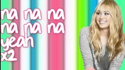 Hannah Montana - Need A Little Love - Lyrics On Screen Hd