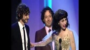 Gotye and Kimbra at the 55th Annual Grammy Awards Pre Telecast Ceremon