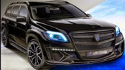 Larte Design Mercedes-benz Classe Gl Black Crystal 2014 aro 22 290 cv 70 mkgf