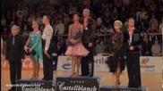 Наи-добрите от 1 до 6 място- Cambrils 2012 - European Championship Latin - Podium