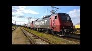 Дтв 90571 Булмаркет с локомотиви 86 004 и 86 001