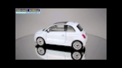 Fiat 500 - Welly - 1:24