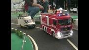 Novegro 2011 modellismo e realta' - incidente sull'autostrada 1
