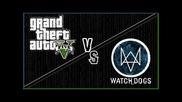 Gta V vs Watch Dogs - Side By gabexav