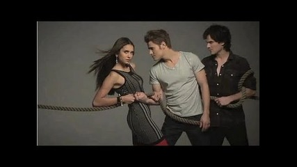Photoshoots of The Vampire Diaries