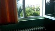 Иванчо си хвърля раницата през прозореца