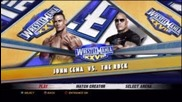 Wrestlemania 28 - John Cena vs The Rock (wwe 12 Simulation)