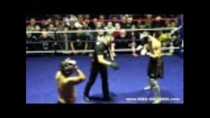 Веселин Иванов срещу Любомир Геров - 84 кг (аматьорското Мма състезание)