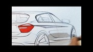 The new Bmw 1 Series. Designer Interview. 2012 F20