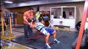 Добри Делев - тренировка за гърди и бицепс