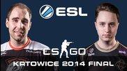 Големият финал! Virtus.pro vs. Nip Gaming Ems One Katowice 2014 - Cs:go