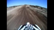 Big Crash Go Pro Wide Helmet Cam Cahuilla Creek Motocross Dirt Bike Rider 821 Hq