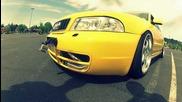 audi s4 b5 yellow