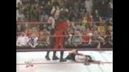 Гробаря прави задушаващо тръшване на Екс Пак, разгневява Кейн и той му го връща Wwe Raw 1999