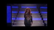 Прекрасно изпълнение на Деми Ловато - Give Your Heart A Break