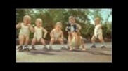 Funny Babies Rollerblading!!!