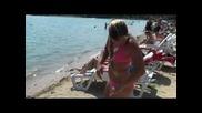 Доминика Цибулкова на плажа