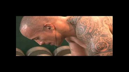 Dwayne Johnson ( 125 kg ) ( 1,96 m ) ( The Rock ) Workout [ h d ]