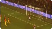 Разочарование за Барса !!! ( Uefa Champions league Ac Milan Vs Barcelona 2-0 )