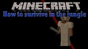 """""""where Did My Iron Go"""" - How To Survive In The Jungle Minecraft"""