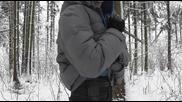 Тест с хладно оръжие против огнестрелно - нож против пистолет