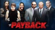 The Shield vs. Evolution - Wwe Payback 2014 - Wwe 2k14 Simulation