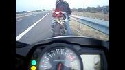 gsxr 1000 acceleration(200-300 in 6 sec)