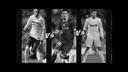 Neymar vs C.ronaldo vs Messi 2012