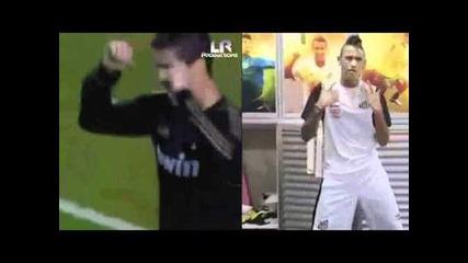 Neymar i C.ronaldo - Ai se eu te pego.