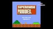 Много смешна пародия на играта Супер Марио
