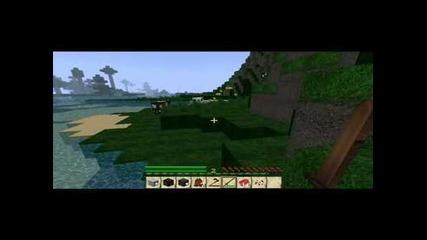 Minecraft survivar ep1 Boi s kravi