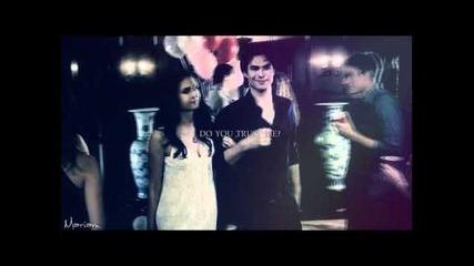 Damon & Elena || '..can you feel this?'
