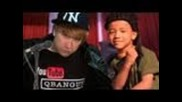 Justin Bieber and Jaden Smith Never Say Never Music Video Spoof!