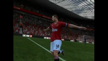 Fifa 11 match with Frozen97