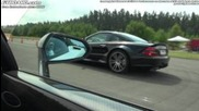 Mercedes Sl65 Amg Black Series vs Lamborghini Lp570-4 Performante Gallardo