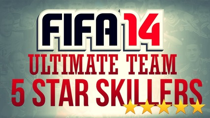Every 5 Star Skiller In Fifa 14 Ultimate Team