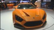 Zenvo St1 Hypercar Geneva Motor Show Debut 2014