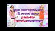 Violetta - Si es por Amor (karaoke Instrumental) + Coros