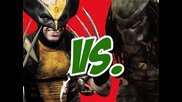 Wolverine vs. Predator - Super Power Beat Down